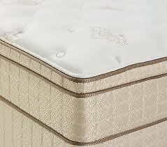 LUXURY QUEEN SIZE PILLOW TOP MAT/BOX  NO TAX FREE DELIVERY 10 YR