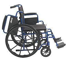 """Sale !!!! on Wheelchair New in Box- Seat Size 18""""-19""""  - Light"""