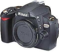 Used Nikon D60 DSLR Digital Camera Body