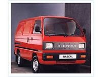 WANTED. BEDFORD RASCAL VAN OR SIMILAR