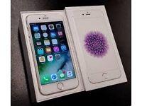 Apple iPhone 6 - 16GB White & Silver ✨ 02 & Giffgaff -Tesco Sim Locked ✨ Boxed