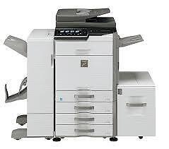 SHARP MX2640 MX-2640 2640N COLOR COPIER COLOUR SCANNER PRINTER FINISHER STAPLER SADDLE STITCH COPY MACHINE PHOTOCOPIER