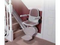 acorn right hand stair lift with fitting