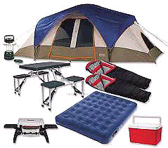 WANTED CAMPING GEAR
