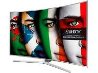 """NEW,65""""Samsung 4K CURVE Smart tv £850,GUARANTEED ,PRICE IS NEGOTIABLE"""