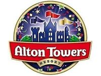 Alton Towers Ticket x 1