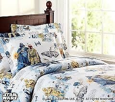 The Empire Strikes Back Single Bedding Set - Pottery Barn Kids USA.