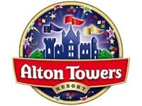 Alton towers tickets £5