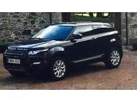 Range Rover Evoque 64/Dec 14, ED4, 2WD, Service plan, Warranty, RV camera, Sat Nav, Privacy glass