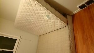 Full mattress with wood support for sale