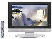 Monitor / TV, JVC 17inches LCD PC TV / monitor, remote control, surplus to requirement
