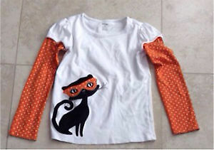 Gymboree Girl's Halloween T-shirt Size 9 $5