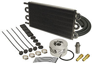 Fluid Cooler Engine Sandwich Adapter Kit GM SBC-BBC V8