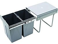 RECYCLE BIN PULL OUT KITCHEN WASTE BIN 400MM - 40 LTR - BRAND NEW