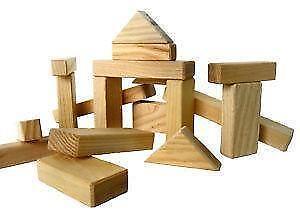 Vintage Childrens Building Blocks