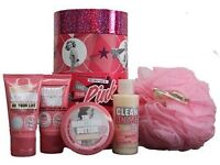 New soap & glory items & clarins
