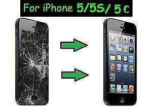 $45 Today Special Phone 5/5S/5C & 5 SE LCD Glass Screen Repair