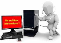 Réparation ordinateur, PC de bureaux, Laptop, Desktop