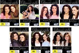gilmore girls complete series season 1 7 new dvd ebay. Black Bedroom Furniture Sets. Home Design Ideas