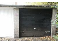Single Lock-Up garage to rent in Orchard Brae Gdns, 15 minutes walk to West End.