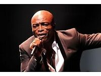 Seal ticket for Birmingham Symphony Hall - 21st February - £80