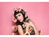 Katy Perry || The O2, London || Friday, 15 June 2018 18:30 .. Face Value || Block 112