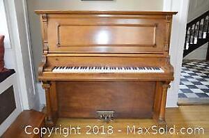 Antique Upright Piano B