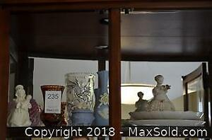 Porcelain And Crystal Collectibles. A