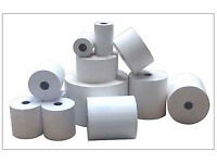 CASH REGISTER 57mm X 57mm THERMAL TILL ROLLS NEW IN BOX 20PCS SHOP PAPER ROLL PRICE NEW