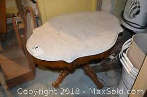 Marble Top Table B