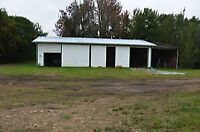 Huge shop or Big Shed or 10 acres for Lease!