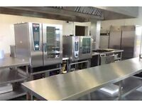 Commercial kitchen for rent, fully-equipped with state of the art cooking technology and amenities
