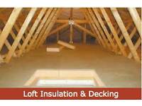 Loft insulation and decking