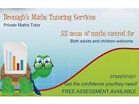 Experienced Math's Tutor - Bronagh's Maths Tutoring Services