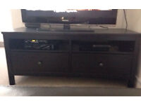 Tv unit HEMNES IN Very good condition with drawers