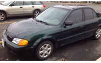 Great first car! 2000 Mazda Protege