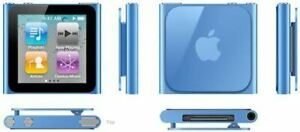 BLUE IPOD NANO 6TH GEN 8GB IN GOOD CONDITION