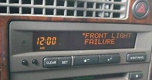 Saab 9-3 / 9-5 Reparation d'affichage écran LCD pixel defectueux