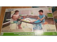 KidKraft Table Art Craft Chalkboard Stool Deluxe Learning Activity Toys Play Set