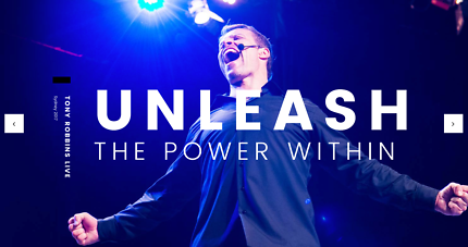 TONY ROBBINS - UNLEASH THE POWER WITHIN 2017 - VIP TICKET