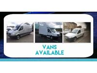 Man and Van 2 man team (from £15) fully insured