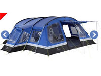 Large 8 man tent. Hi Gear Frontier premium tent plus additional footprint.