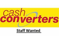 Cash Converters has a Part time and full time position available within our buying department.