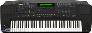 Roland E-70 Synthesizer + Cover + Pedal