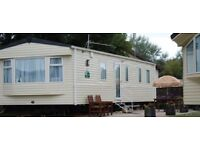 Private caravan to let at BUTLINS MINEHEAD SOMERSET 2017