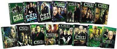 Csi  Crime Scene Investigation   Fifteen Ssn Pack Dvd