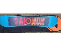 Salomon Pulse Snowboard 162cm with 6-10 Binding