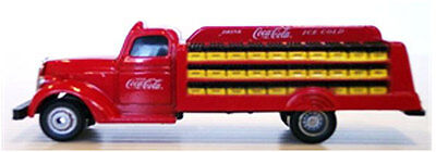 HO 1:87 Motor City Classics 1938 Coca Cola Delivery Truck + 4.50 USPS Shipping on Rummage