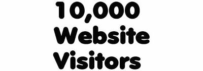 10000 Unique Real Hits To Website -a 7 Day Service For Website Traffic -