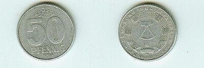 DDR Münze 50 Pfennig 1958A 58 A